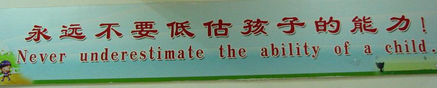 Banner hung at SFLS