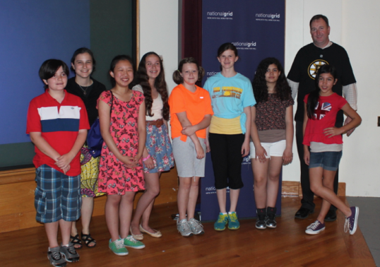 The Global Leaders Club thanks Andrew Ference and National Grid!