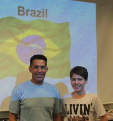 A member of our facilities team co-presented with a Brazilian student