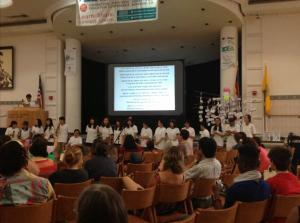 The IDEC 2014 team from Korea