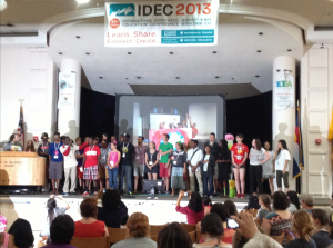 Youth at IDEC 2013