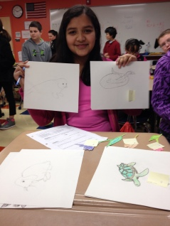 We have some skilled artists in the class.
