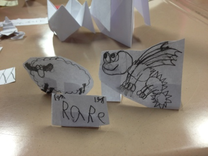 After seeing Owen's rare monsters, another student tried the same strategy!