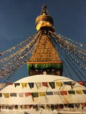 Boudhanath Stupa in Kathmandu, Nepal, 2000