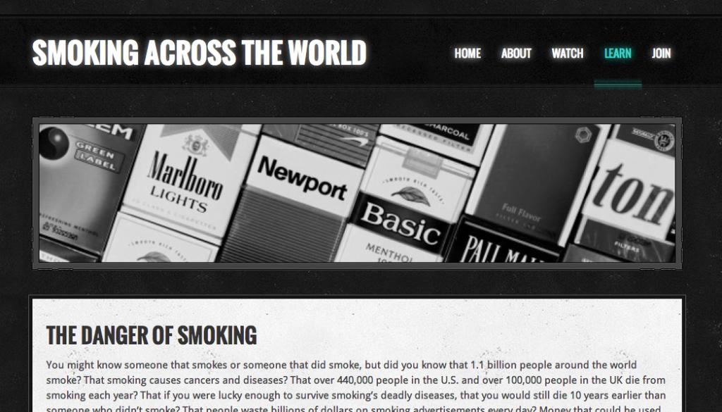 Homebase Gandhi's Website... So far!