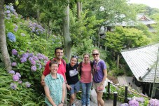Some happy teachers at the Hasedera Temple
