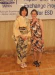 Omi Sensei in her beautiful kimono