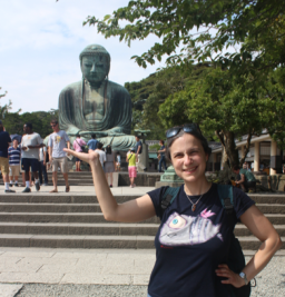 Me and the Giant Buddha