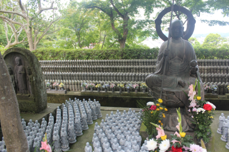 Many Buddhas, big and small