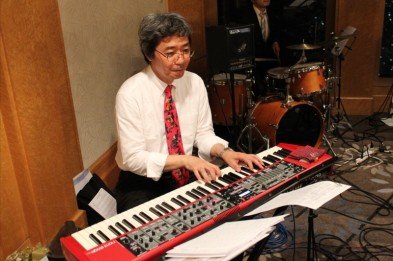 Yasumi San of Fulbright Japan also happens to play piano beautifully