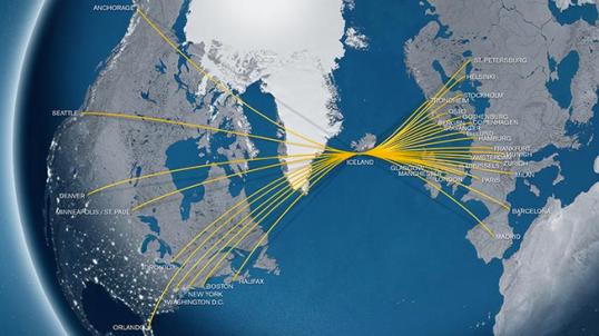 IcelandAir Routes