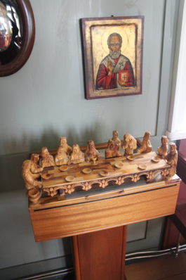 Wooden Last Supper