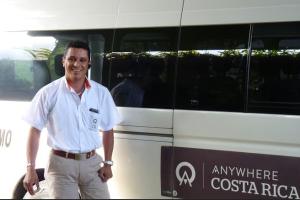Costa Rican Van Driver