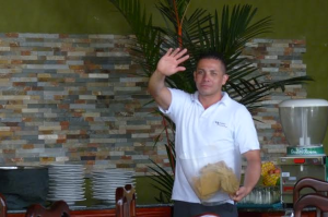 Costa Rican Waitor