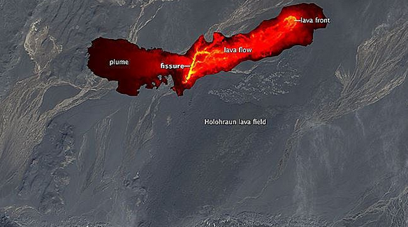 Infrared Image taken by NASA from satellites in space on Sept. 1st