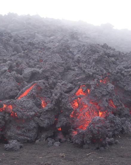 Pacaya Lava Up Close