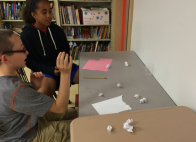 The paper throw game was a great new innovation!