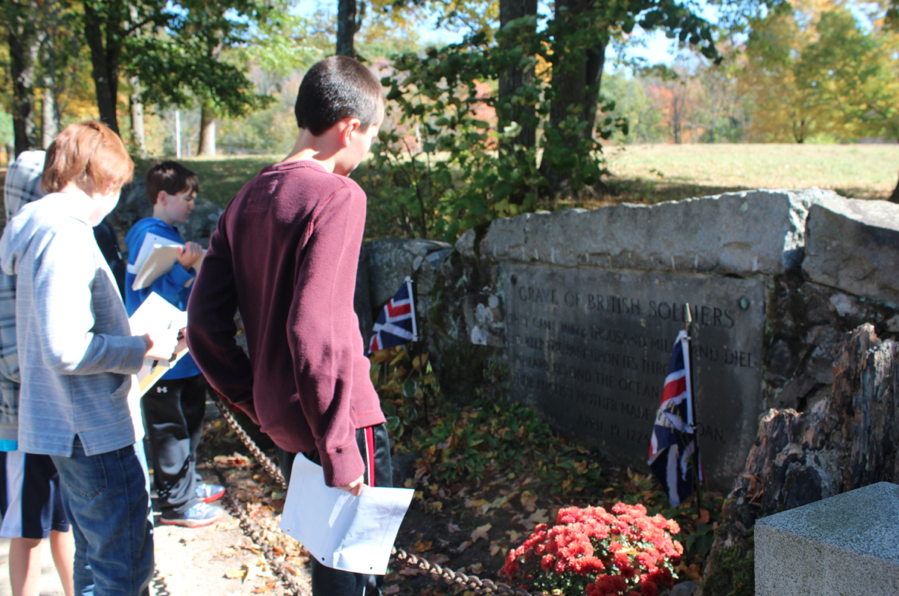 Grave of the British Soldier