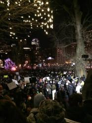 Thousands march on Boston Common, 12/11/14