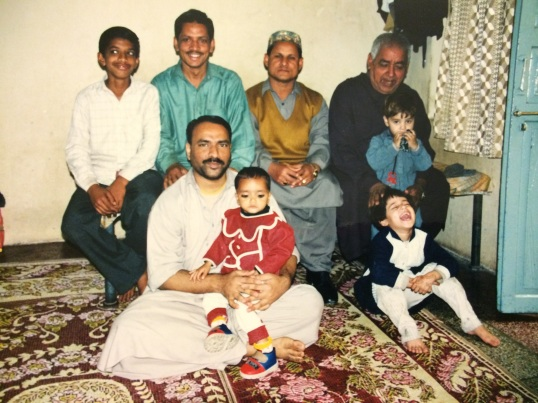 Family in Lahore