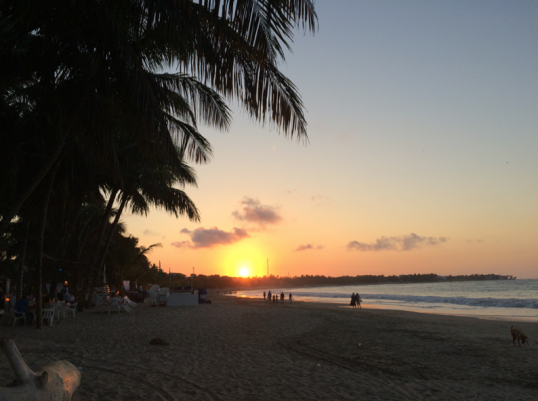 Sunset in Cabarete