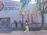 The Plaza de la Cultura is home to many interesting organizations, and they were all open for the festival. This is some sort of empowered women's center.