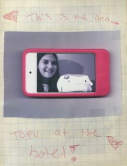 Tofu San and Alyssa at hotel