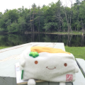 Tofu San at the picnictable