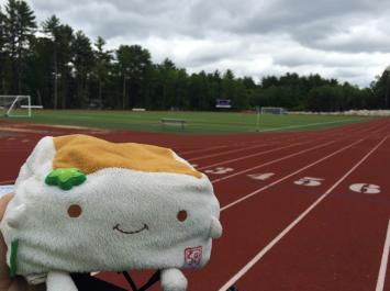 Tofu San at the Track