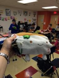Tofu San in the Classroom