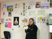 Tofu San with Ms. Haley