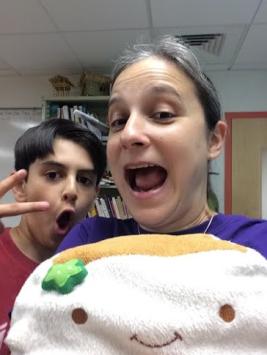 Tofu San with Silly Ms Krakauer