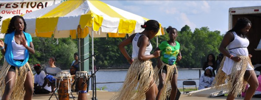 Photo from www.africanfestivallowell.org/