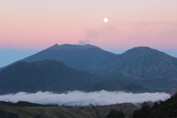 More volcanos and sunrise