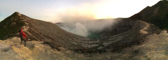 Panorama Crater