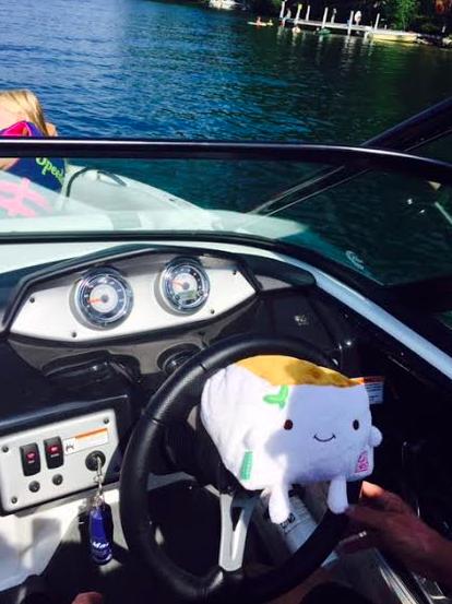 driving boat