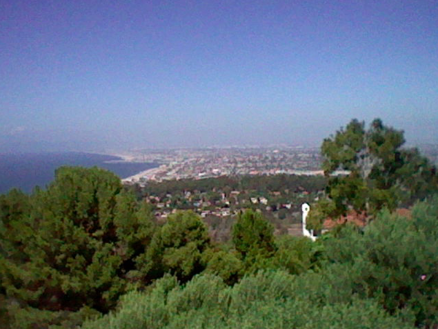 View from my aunt and uncle's house