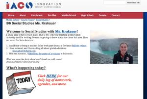 Social Studies Page