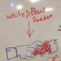 White and Black Freedom