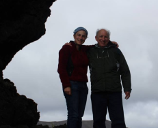 Me and Dad in Iceland
