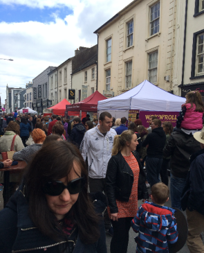 Food Festival Crowds