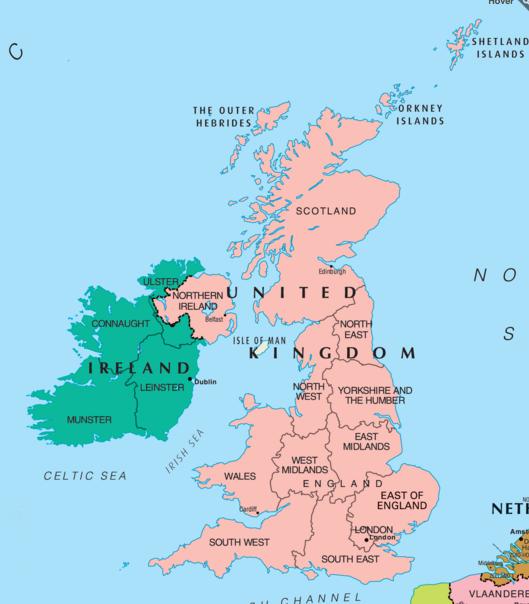 Ireland UK