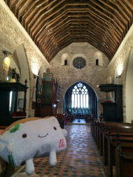 Tofu San in Anglican Church