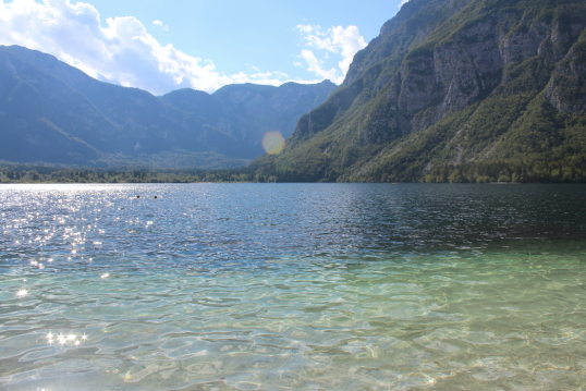 Bohinj from Below