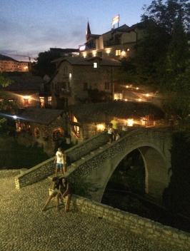 Night Small Bridge