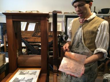 Engraving of Paul Revere