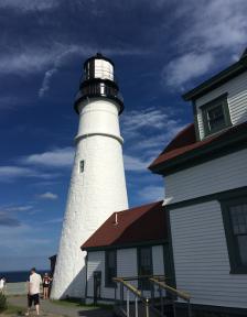 Lighthouse up close