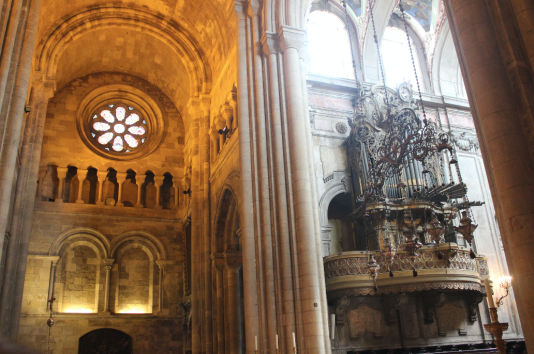 Inside the Lisbon church