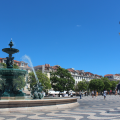 Lisbon Main SquareFountain
