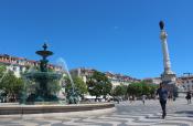 Fountain in Lisbon Center